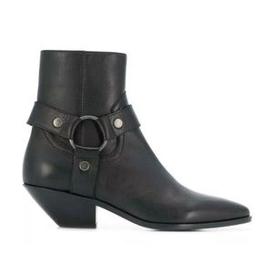 NIB Saint Laurent West Harness Booties